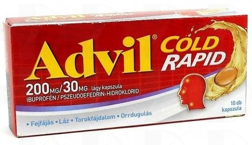 Advil Cold Rapid